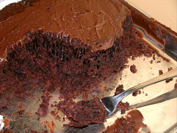 Cocoa-Buttermilk Cake