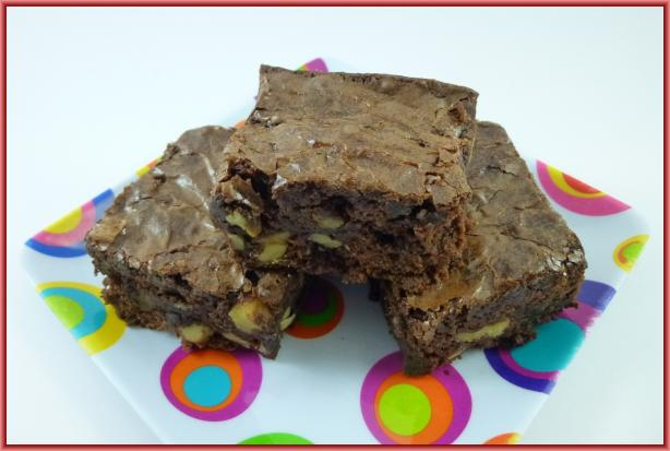 Ghirardelli's Award Winning Double Chocolate Brownies