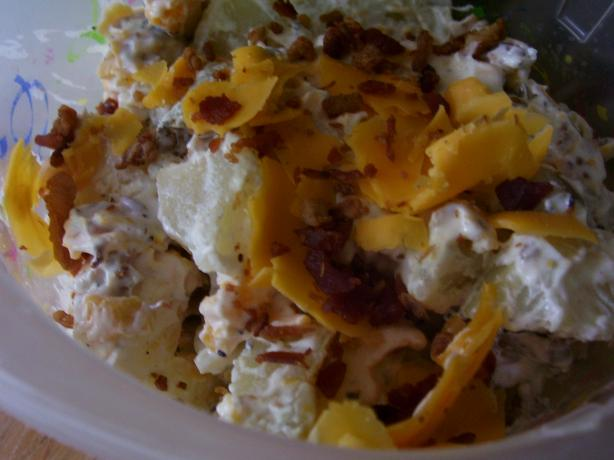 So Yummy Baked Potato Salad