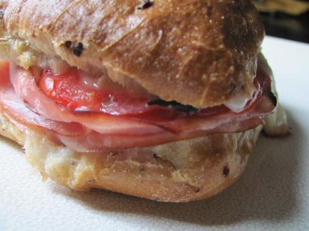Tomato, Ham and Mozzarella Ciabatta