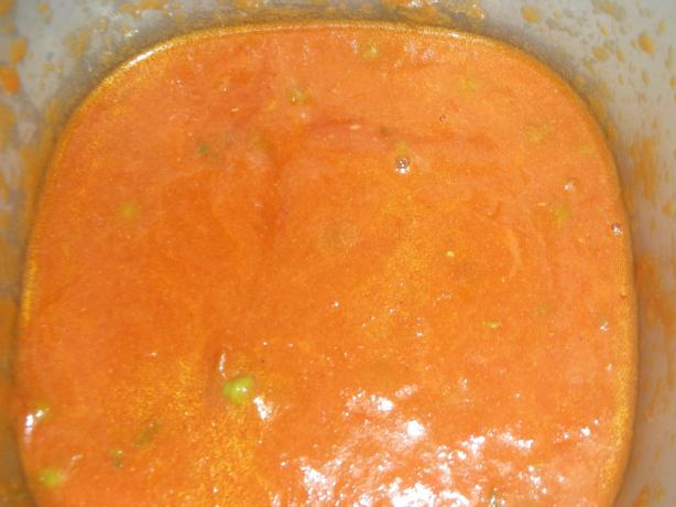 Herbed Bombay Tomato Soup