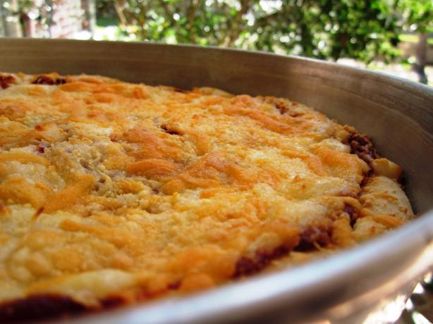 Pan Pizza Crust