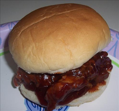 Pork (Or Beef) on a Bun