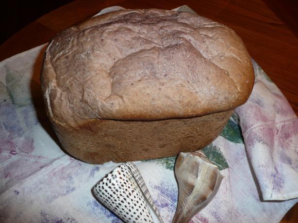Raspberry Marshmallow Bread (Abm)
