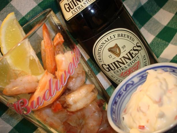 A Pint of Prawns and Guinness Chaser - British Pub Grub!