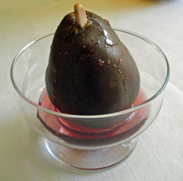 Poached Red Pear Zinfandel