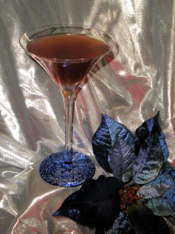 Poinsettia Martini