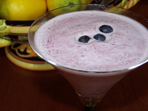 Pomegranate Blueberry Vodka Sipper