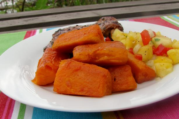 Sugar Glazed Kumara ( Sweet Potato )