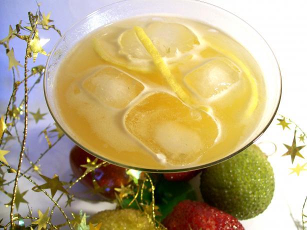 Fuzzy Lemon Fizz (Non-Alcoholic)