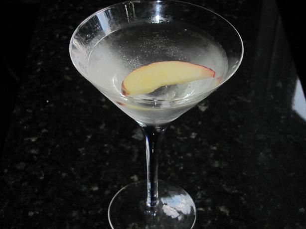 Fuzzy Navel Martini