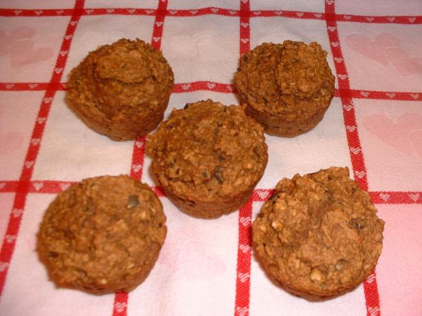 Very Healthy Apple Muffins