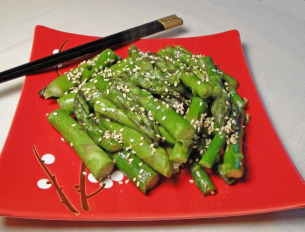 Stir-Fried Fresh Aspargus