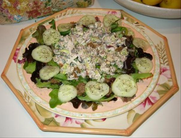 Lemony Rosemary Chicken Salad