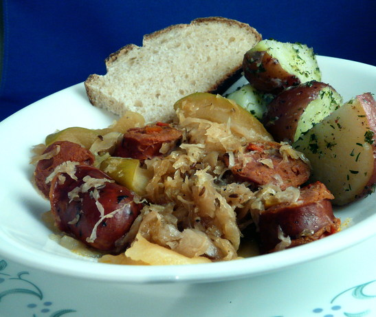 Polish Sauerkraut and Apples
