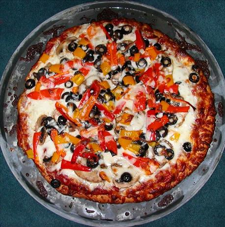 Mediterranean Vegetable Pizza