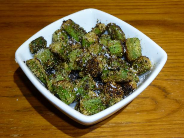 Sherby's Cornmeal Fried Okra