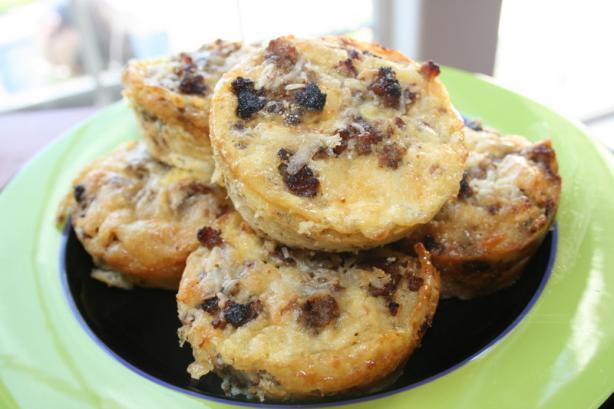 Crustless Breakfast Quiche Muffins