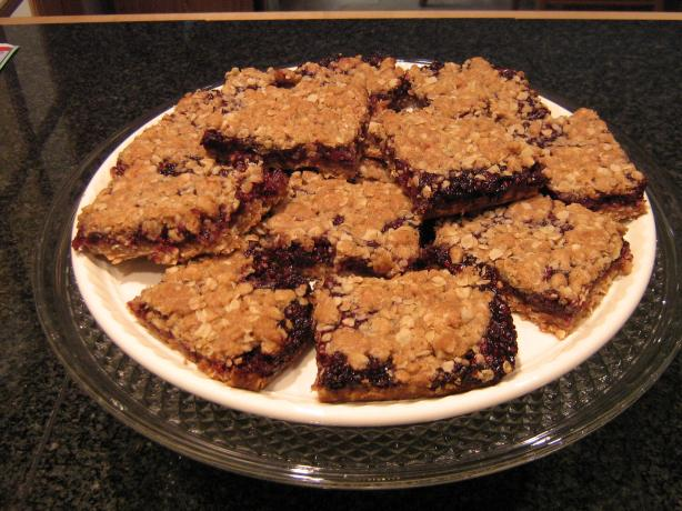 Blackberry Breakfast Bars