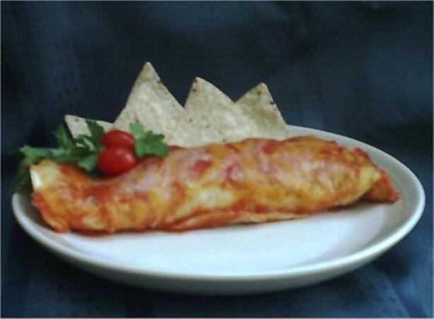 Enchiladas Santa Fe
