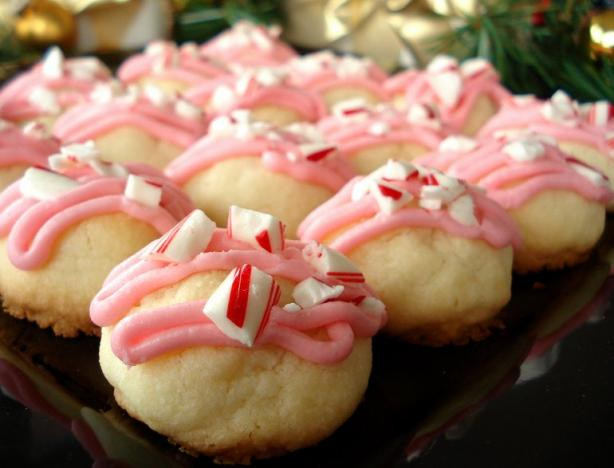 Peppermint Meltaways Meltaway Cookies