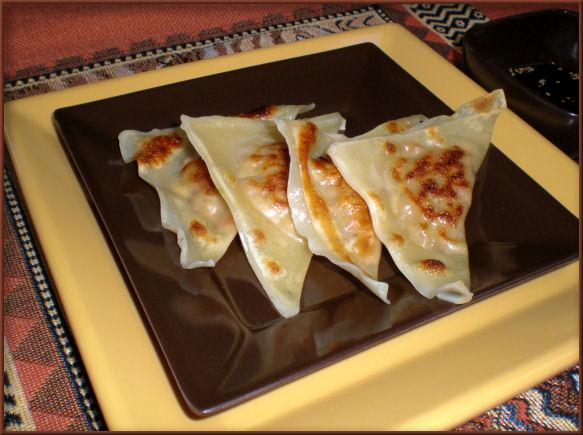 Perfect Pot Stickers (Alton Brown)