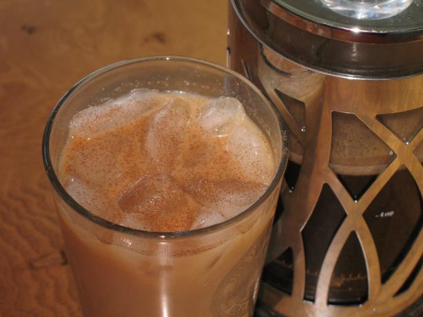 Iced Hazelnut Coffee Cooler