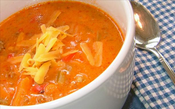 Hamburger and Carrot Soup