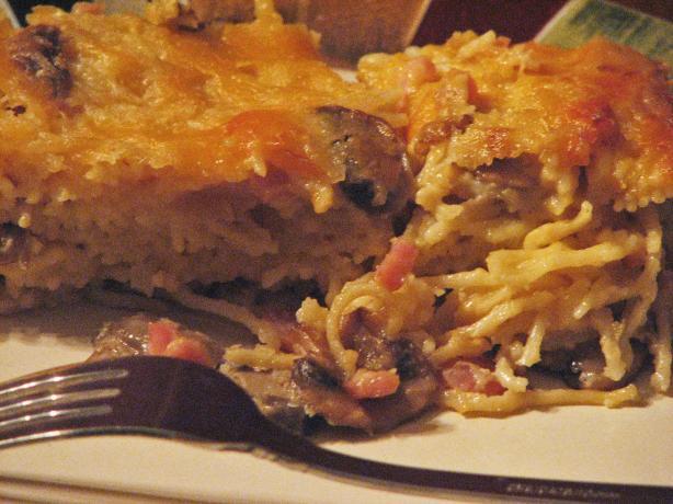 Creamy Ham Spaghetti