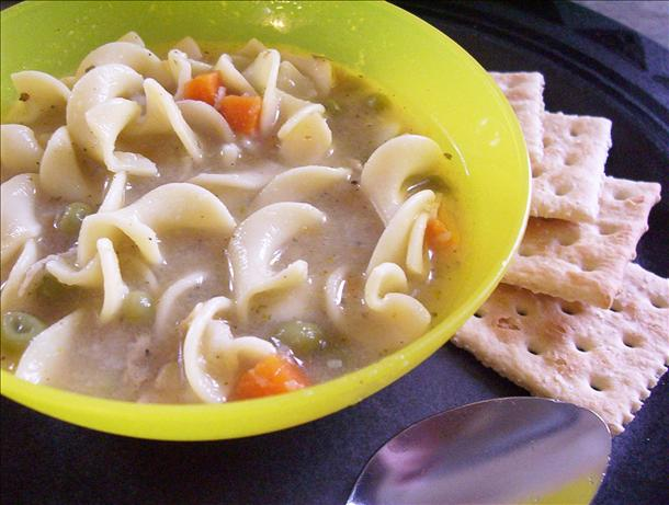 C. O. R. N. Chicken Noodle Soup