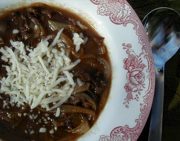 Rich Onion Beef Soup