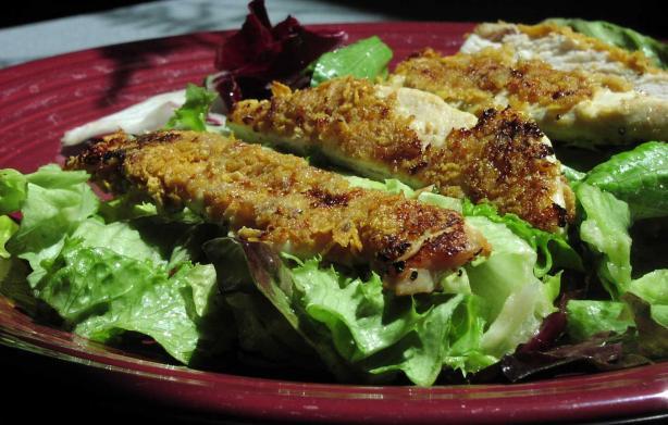 Crunchy Chicken Caesar
