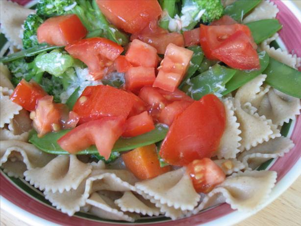 Milk Free Salmon Vegetable Fettuccine