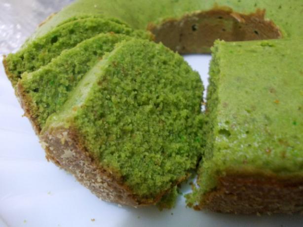 Green Tea Pound Cake