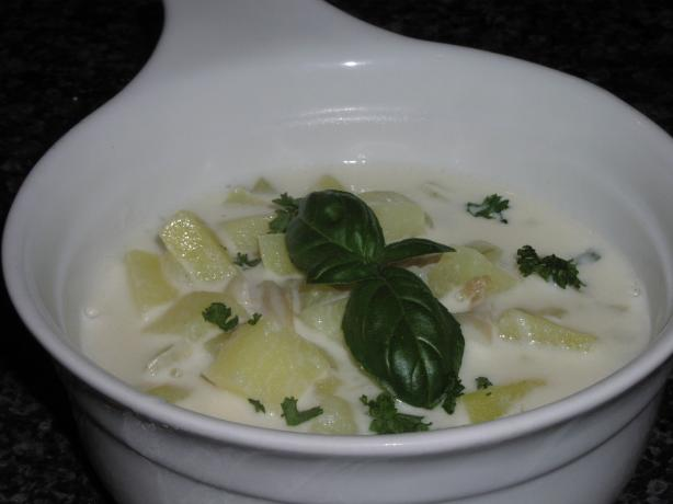 Pipi Soup (Nz Clam Chowder)