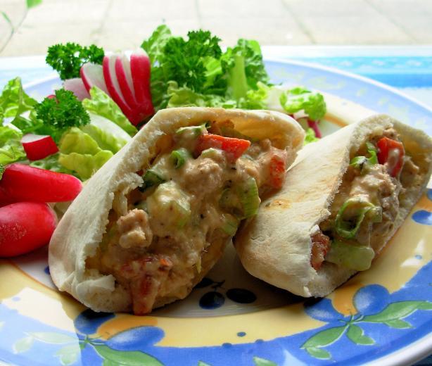 """pita the Great"" - Tuna Salad"