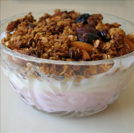 Almond-Cherry-Lavender Crunch