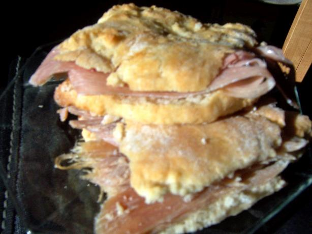 Country Ham Biscuits - Old Chickahominy House, Williamsburg, Va