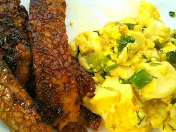 Tofu Scramble with Fresh Herbs