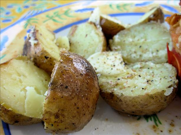Twice Baked Outdoor BBQ Baby Potatoes
