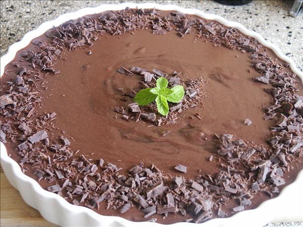 Minty Mousse Pie Au Chocolat