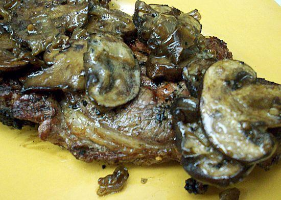 Lisa's Grilled Steak Marsala
