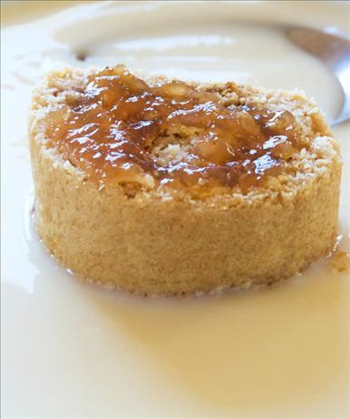 Nanny's Nursery Baked Jam Roly Poly Pudding