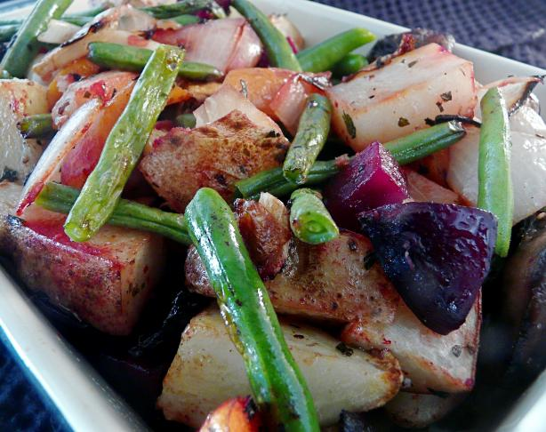 Bill's Roasted Vegetables