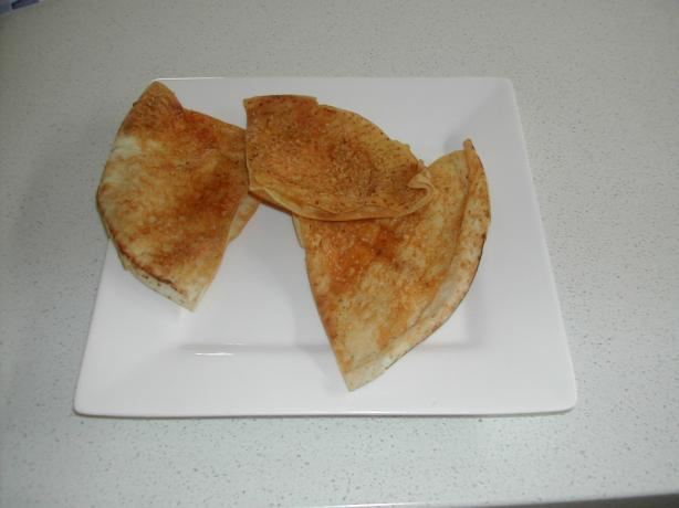 Pita Crisps Parmesan, Garlic and Paprika