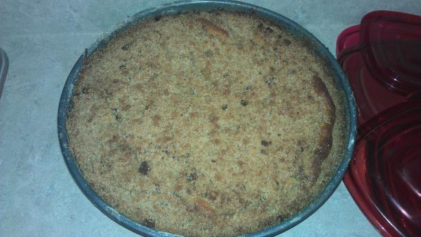 Peach Streusel Coffee Cake