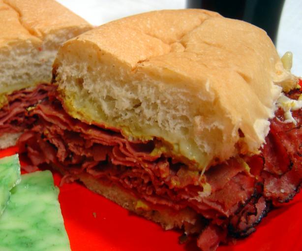 Beer Pastrami Sandwich