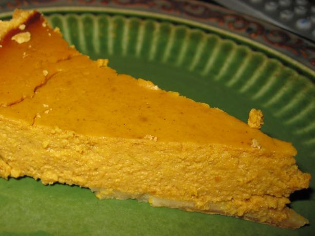 Lightened Maple Pumpkin Pie