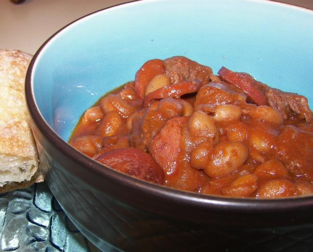 Beef With Cannellini Beans