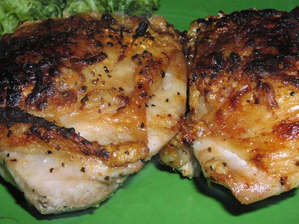 Deviled Chicken Thighs